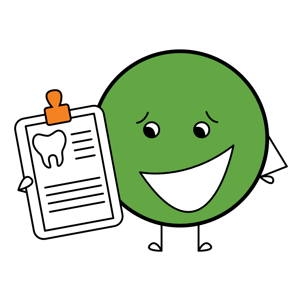 pediatric dental patient forms icon